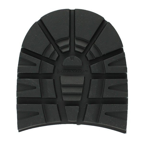 Herren Schuhabsatz Dunlop Winter Absatz grobes Profil schwarz