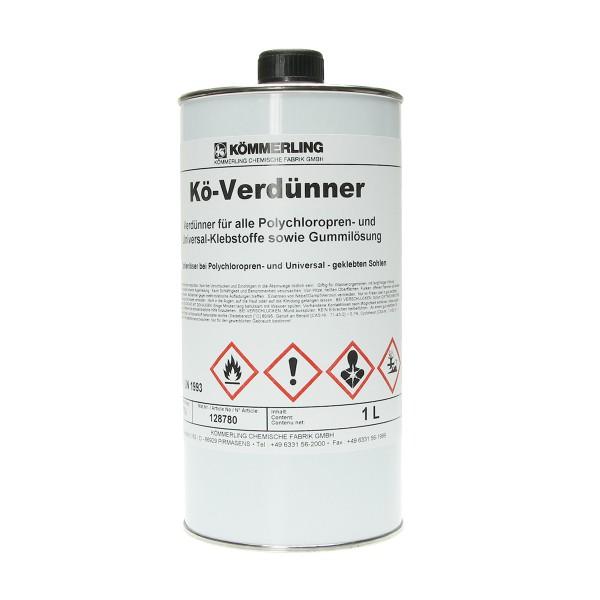 Kömmerling Klebstoff Verdünner 1000ml für Kövulfix Megabond