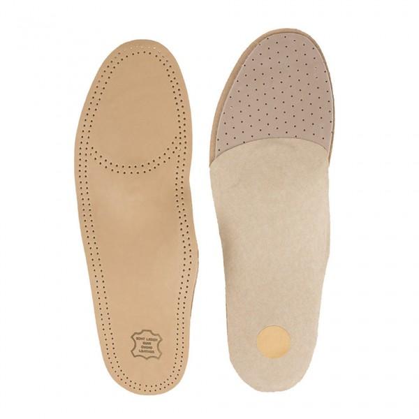 Premium Luxus Fußbett Einlegesohlen Leder Schuheinlagen orthopädisch