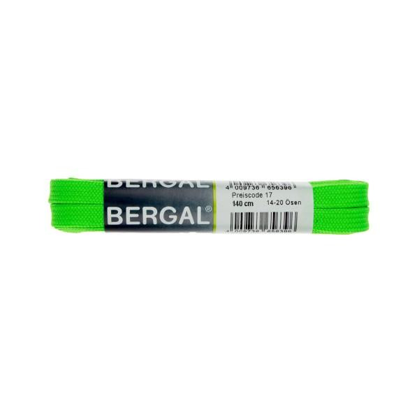 Bergal Sneaker Senkel 140cm neon grün Schnürsenkel