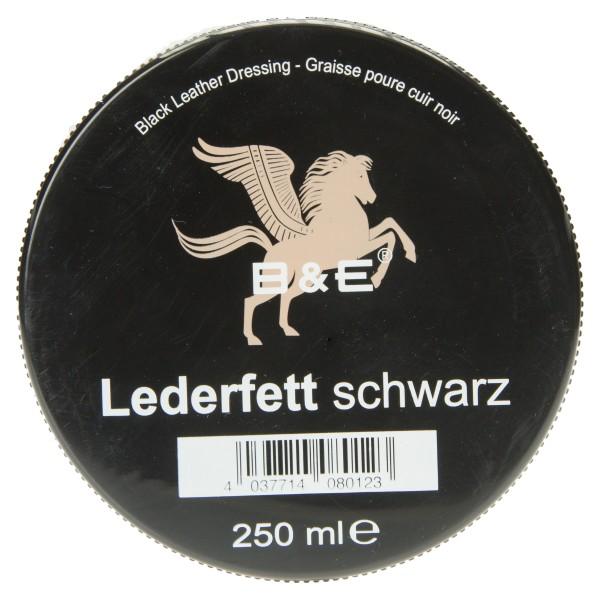 Bense & Eicke Lederfett schwarz zur Lederpflege von schwarzem Glattleder aller Art auch Au