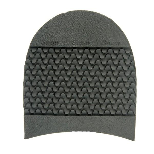 Snow Absatz schwarz griffiger Schuhabsatz zur Schuhreparatur
