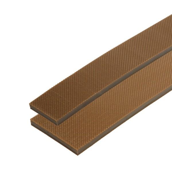 Absatzgummistreifen hell 500 mm ELA zweilagig besonders abriebfest (Breite zur Auswahl)