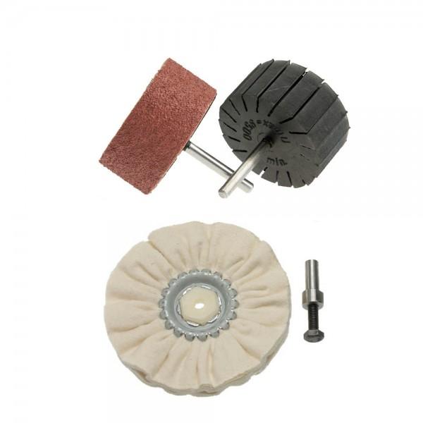 Werkzeugset Schleifen und Polieren Grundausstattung