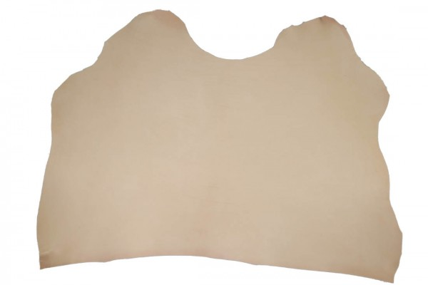 Vegetabiles Blankleder - Punzierleder ganzer Hals 3-3,5mm stark