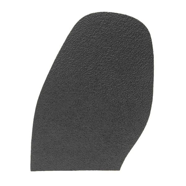 Schuhsohle Gummisohle schwarz feines Crepe-Profil zur Schuhreparatur (Auswahl)