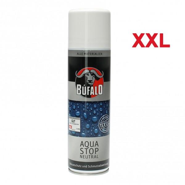 Bufalo Aqua Stop 400 ml Imprägnierung für Schuhe Leder- Textil- Motorradkleidung