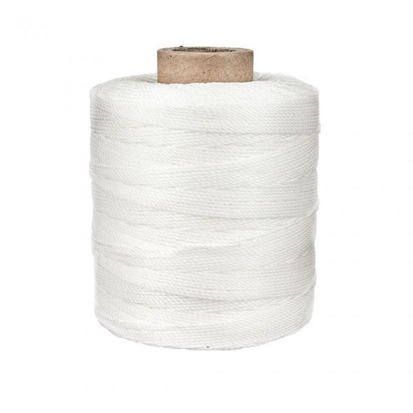 Ledergarn weiss aus Polyester 1,0mm gewachst 430m