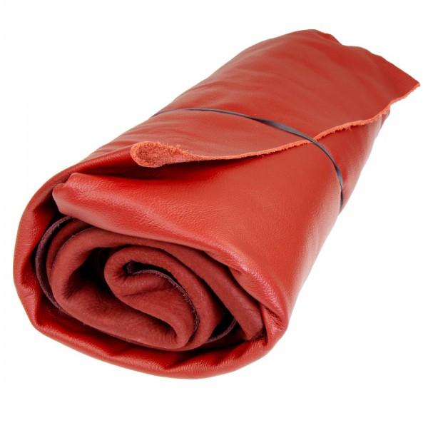 Lederstücke 1kg rot DIN A4