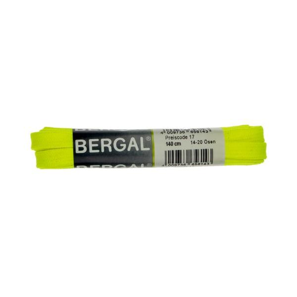 Bergal Sneaker Senkel 140cm neon gelb Schnürsenkel