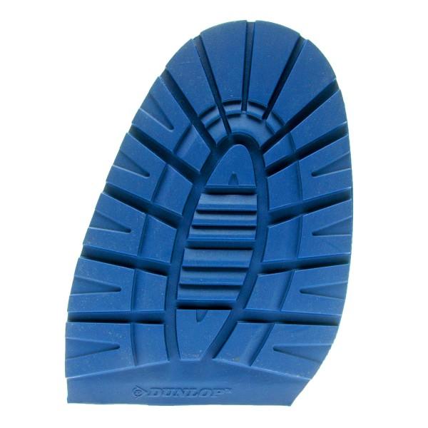 Schuhsohle Dunlop Winter Halbsohle HE Profilhalbsohle 5,5 mm blau