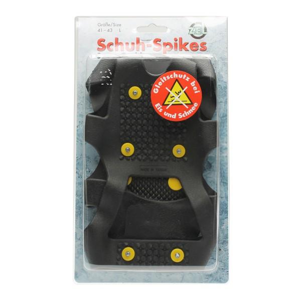 Schuh-Spikes (S-XL Auswahl) für erhöhte Gehsicherheit - Eisspikes Eiskralle Schuhkralle