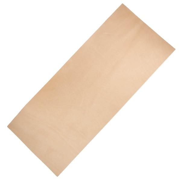 Vegetabiles Blankleder - Punzierleder XXL 250x600mm 2,5-3,0mm stark