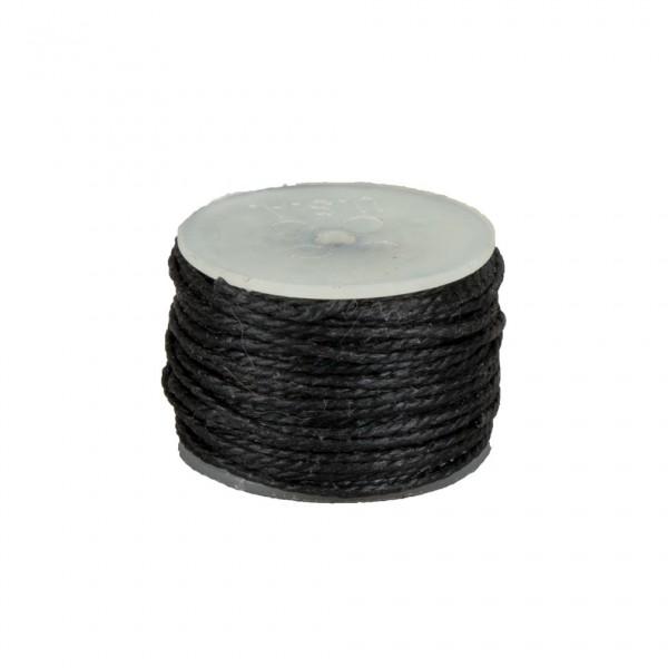 Garnspule mit Garn schwarz für Osborn Automatik Nähahle