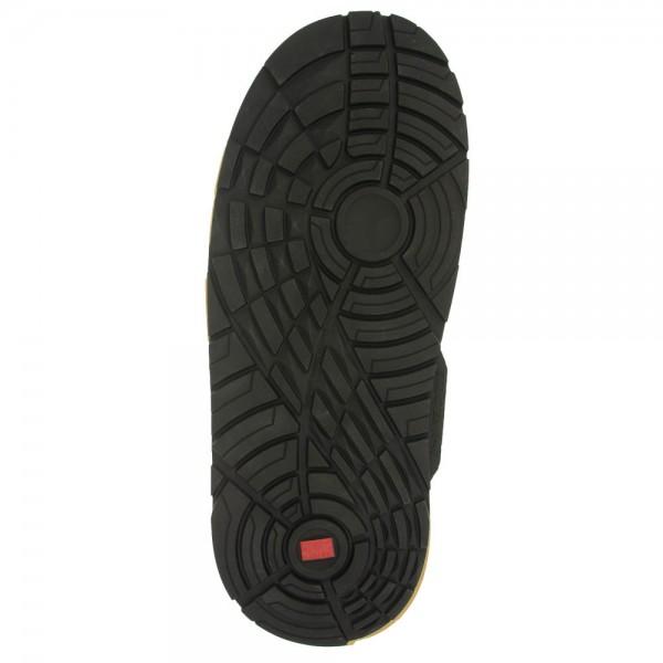 Langlauf® Premium Scooter Langsohle schwarz Sneaker Profil