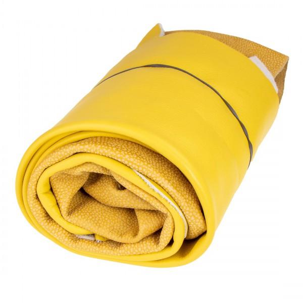 Lederstücke 1kg Gelb DIN A3