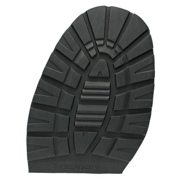 Schuhsohle Dunlop Winter Halbsohle HE Profilhalbsohle 5,5 mm schwarz