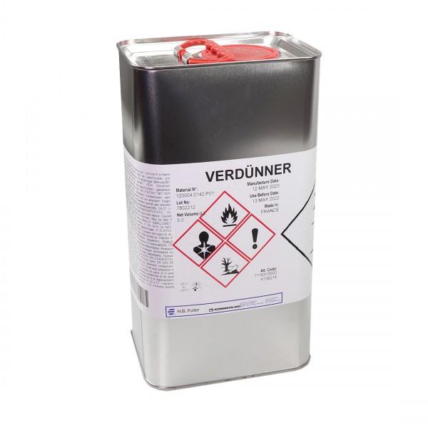 Kömmerling Klebstoff Verdünner 5 Liter für Kövulfix, Megabond , Hausmarke