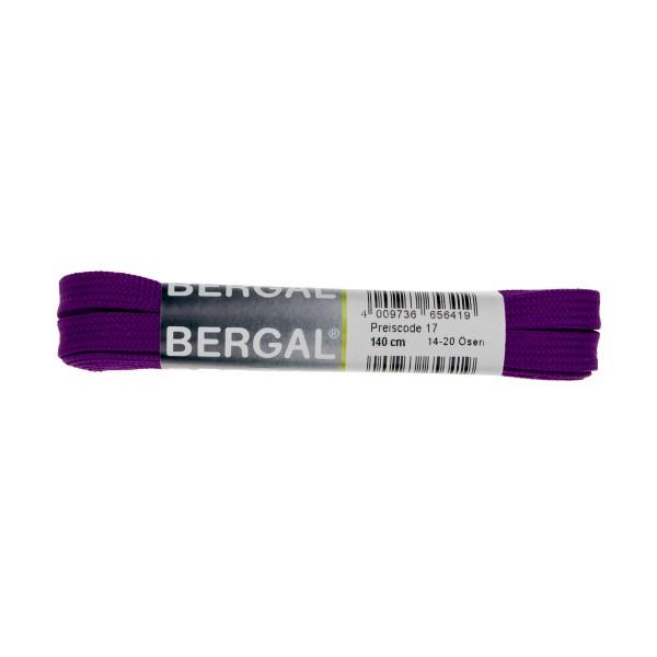 Bergal Sneaker Senkel 140cm Neon Lila Schnürsenkel