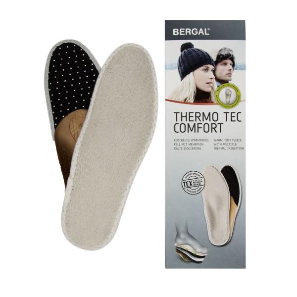 Bergal Thermo Tec Fussbett Kälte-Isolierung durch Aluminiumschutzfolie