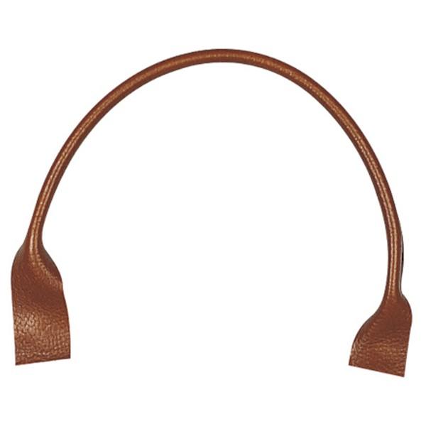 Taschengriff rund aus Leder, 1 Paar (Auswahl)