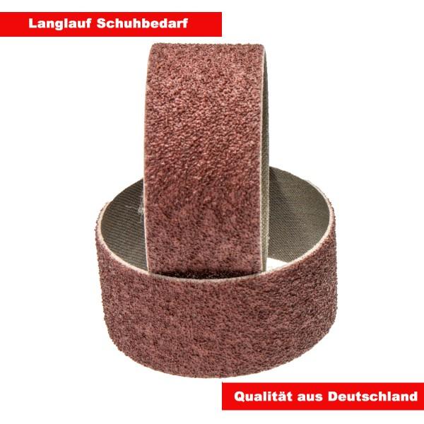 2 x Schleifringe Schleifbänder 55mm Korn 40 grob für Langlauf Schleifzylinder