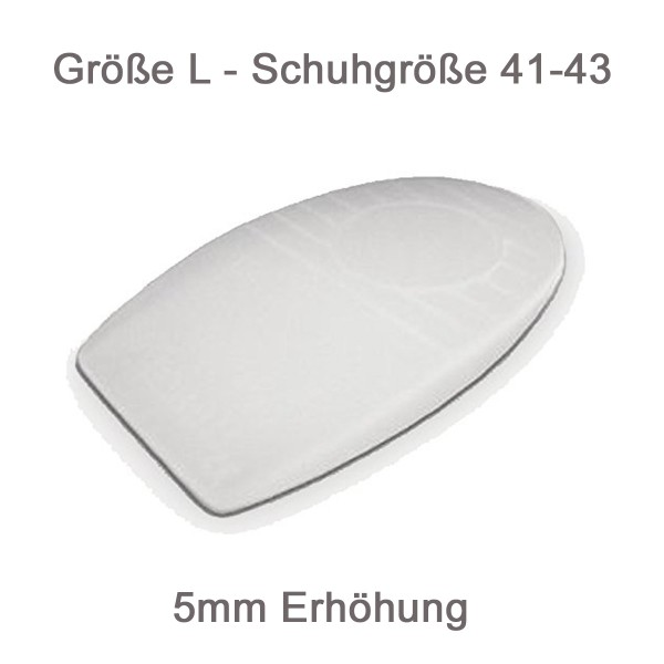 Orpedo 5mm Silikon Längenausgleich Größe L Calcavit 740 Orthopedie