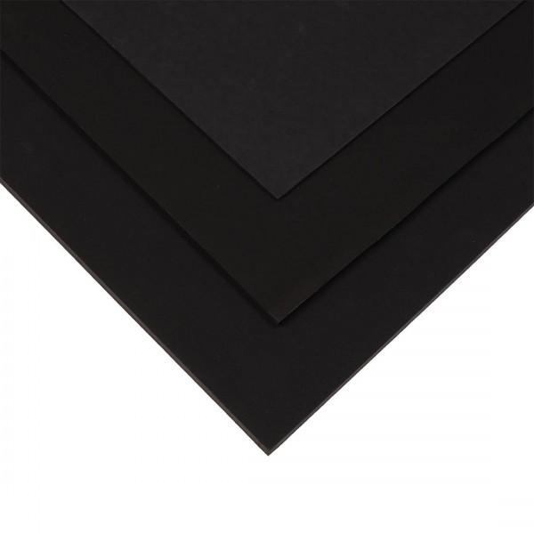 Aufbauplatte EVA schwarz zur Anfertigung von Schuherhöhungen