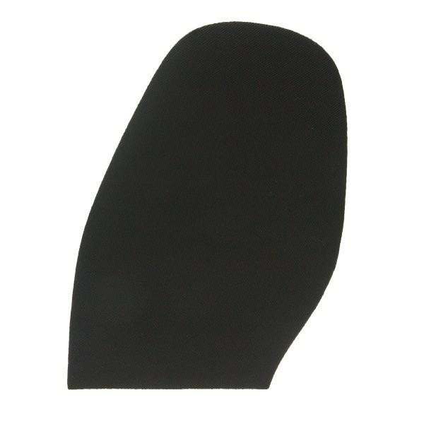 Schuhsohle Gummisohle schwarz feines Pyramidenprofil Halbsohle (Auswahl)