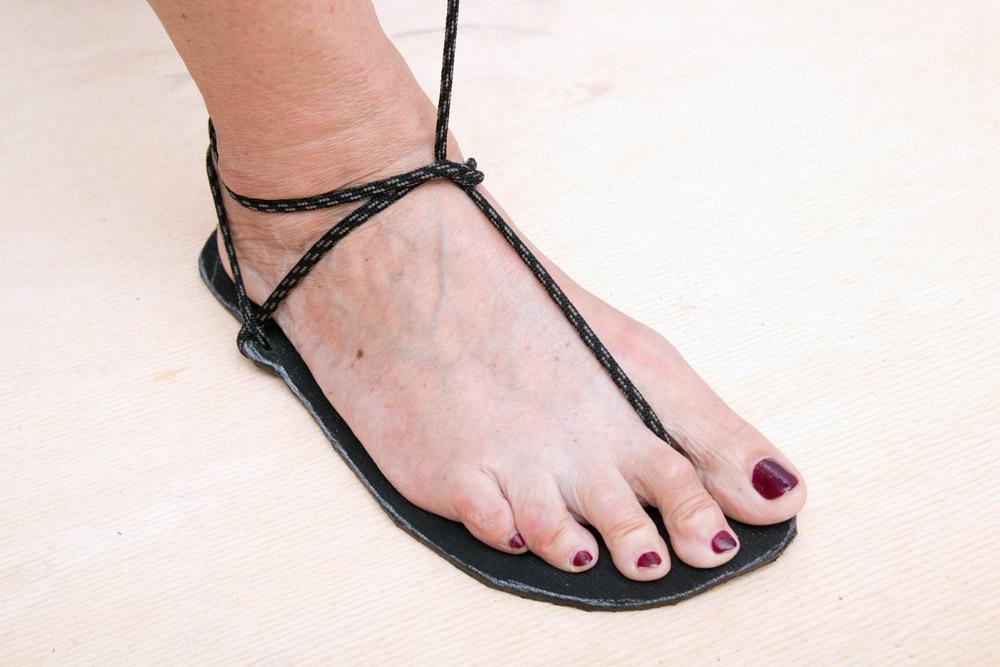 Großbritannien spottbillig Skate-Schuhe Barfuss Sandalen - Huarache-Sandalen - 7148 DIY Set honigfarben