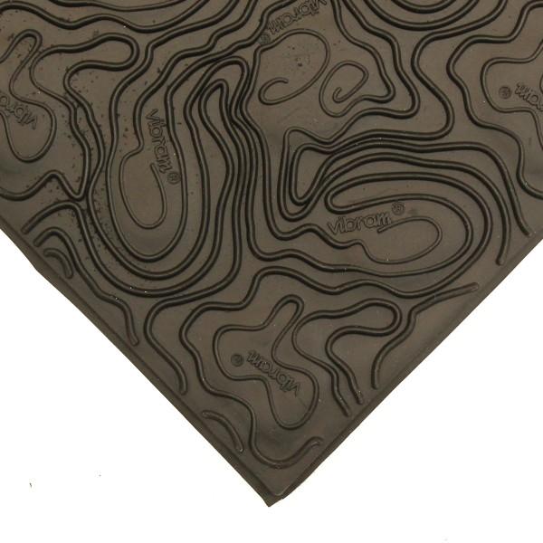 Vibram Sohlenplatte 7148 4mm schwarz