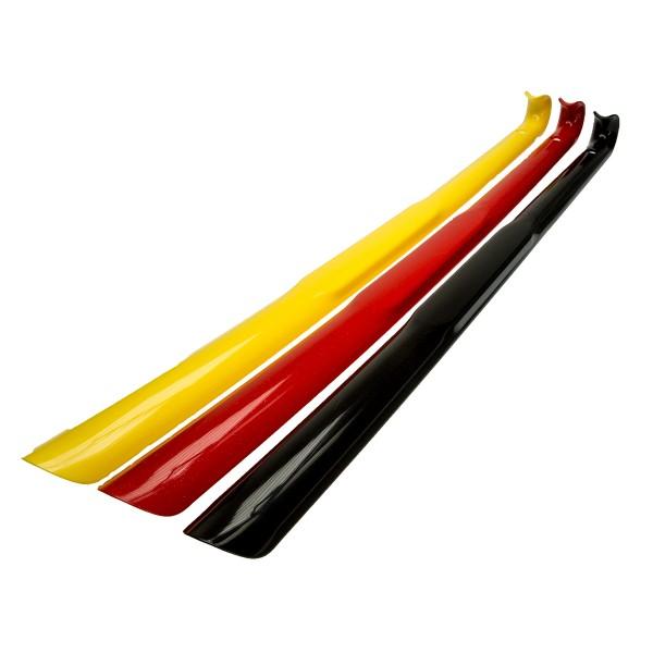 Kunststoff Schuhanzieher Schuhlöffel 65cm rot