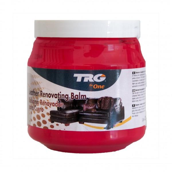 TRG Lederbalsam rot 112 Lederpflege red zur Restauration von Glattleder 300ml