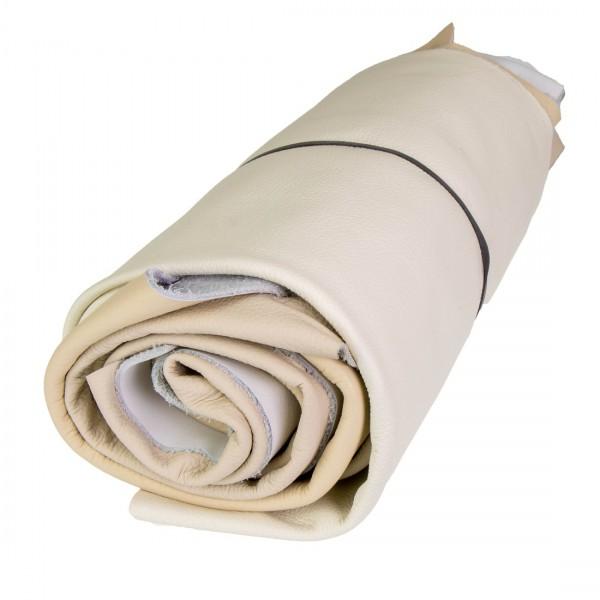 Lederstücke 1kg hell - weiß - beige - grau DIN A4